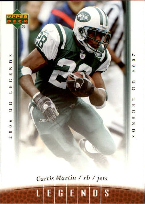 2006 Upper Deck Legends #7 Curtis Martin