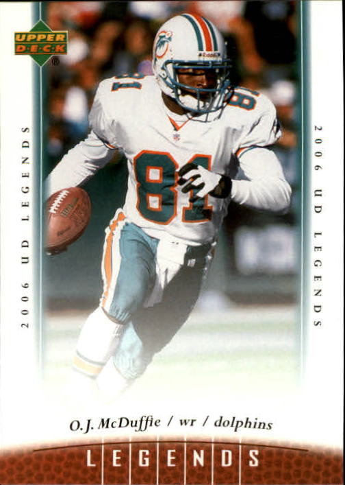 2006 Upper Deck Legends #8 O.J. McDuffie