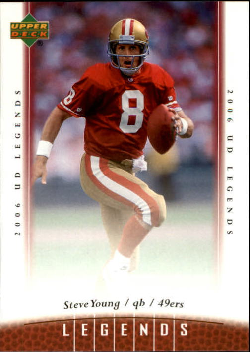 2006 Upper Deck Legends #9 Steve Young