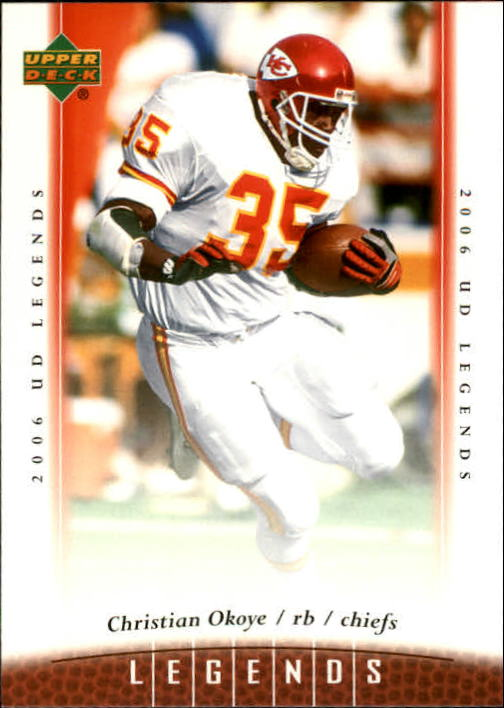 2006 Upper Deck Legends #13 Christian Okoye