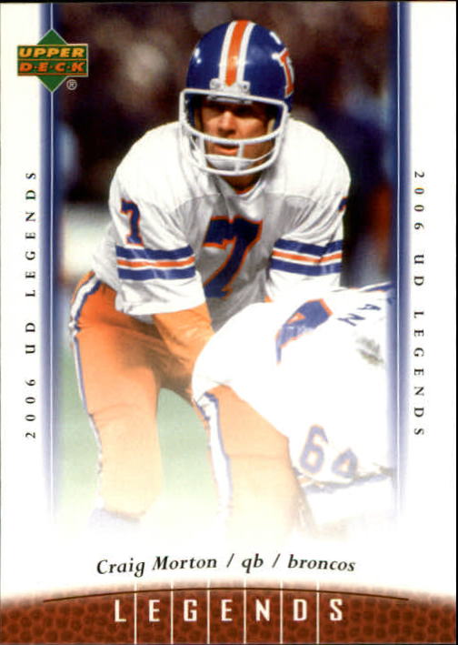 2006 Upper Deck Legends #14 Craig Morton front image