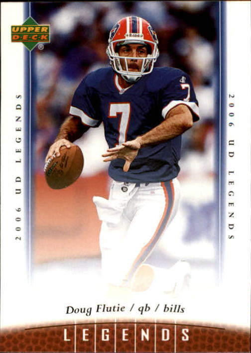 2006 Upper Deck Legends #15 Doug Flutie