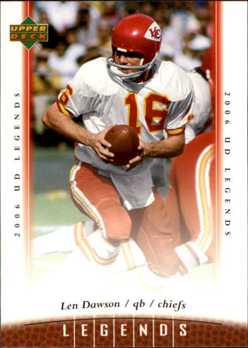 2006 Upper Deck Legends #21 Len Dawson