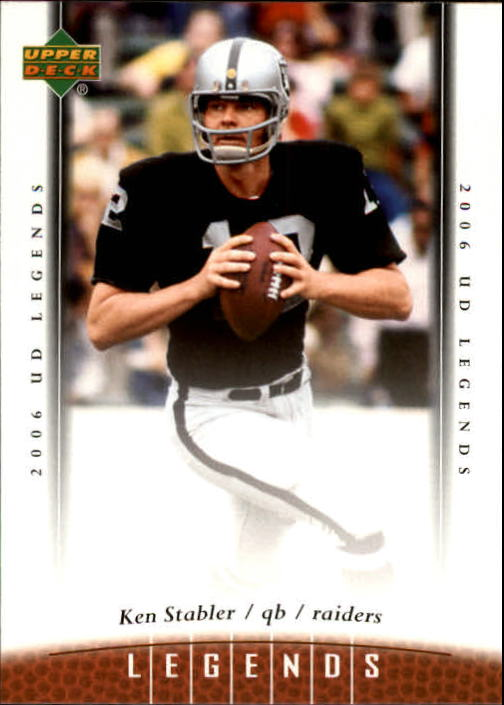 2006 Upper Deck Legends #22 Ken Stabler