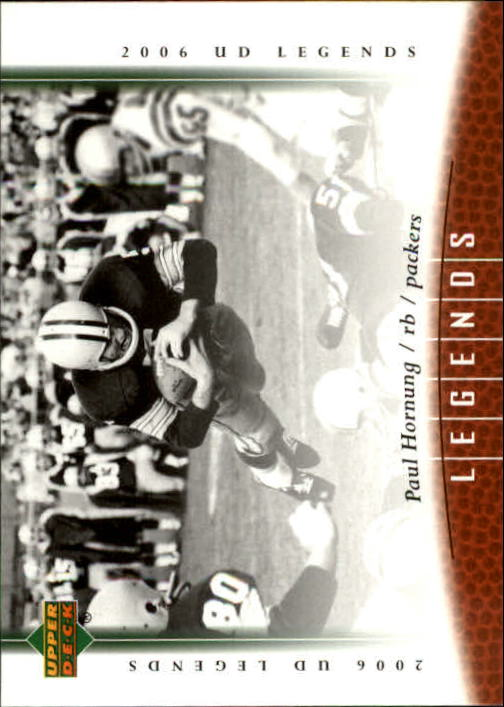 2006 Upper Deck Legends #26 Paul Hornung front image