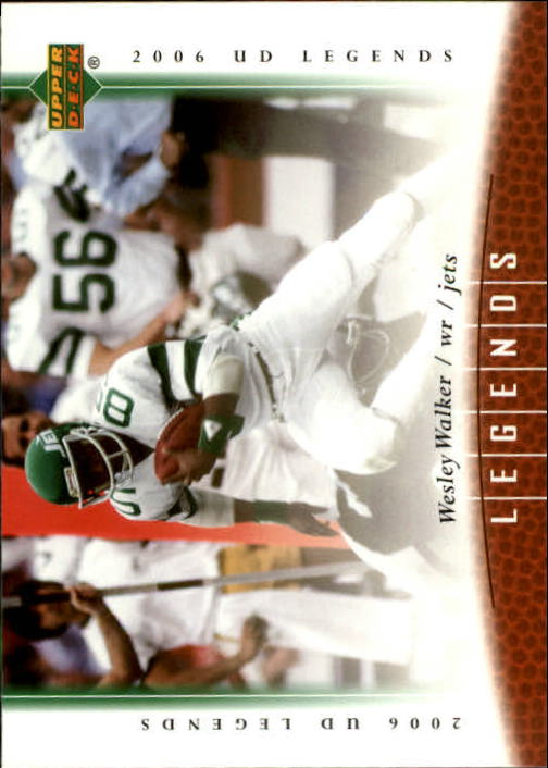2006 Upper Deck Legends #33 Wesley Walker