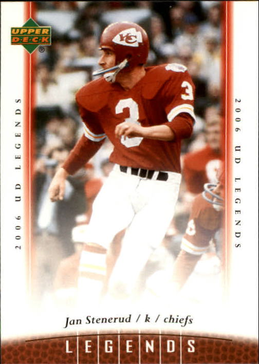 2006 Upper Deck Legends #40 Jan Stenerud