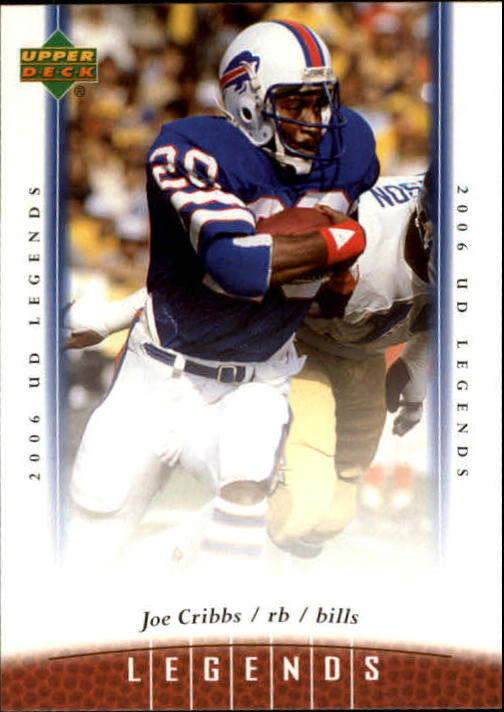 2006 Upper Deck Legends #42 Joe Cribbs