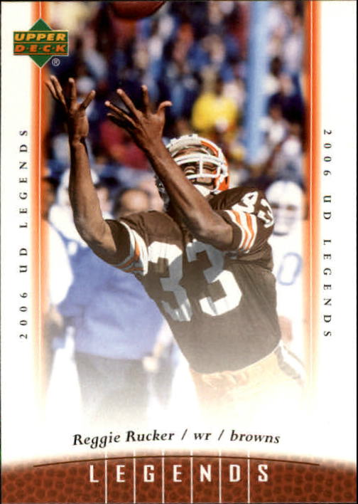 2006 Upper Deck Legends #43 Reggie Rucker