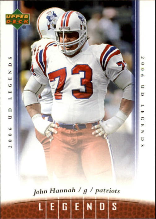 2006 Upper Deck Legends #52 John Hannah