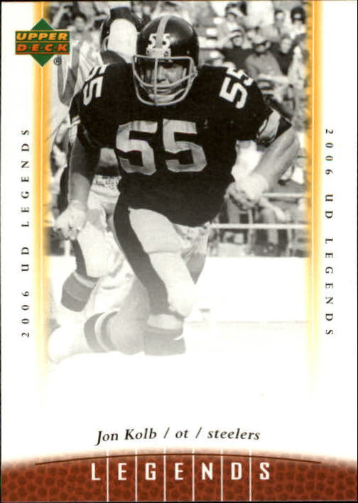 2006 Upper Deck Legends #58 Jon Kolb