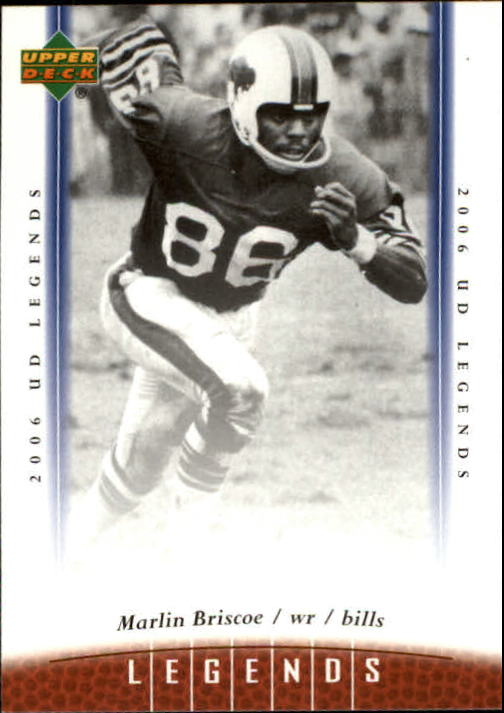 2006 Upper Deck Legends #75 Marlin Briscoe