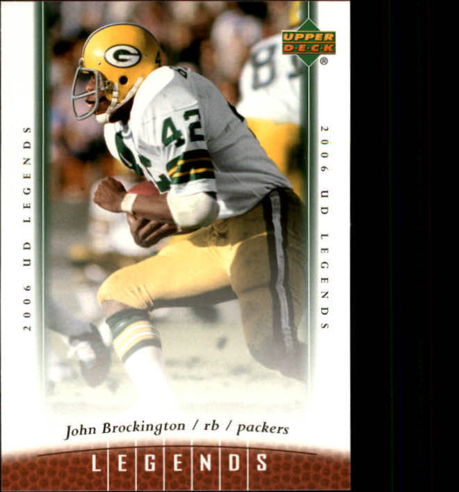 2006 Upper Deck Legends #99 John Brockington