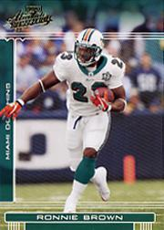 2006 Absolute Memorabilia #87 Ronnie Brown