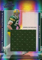 2006 Absolute Memorabilia Rookie Premiere Materials Oversize #275 A.J. Hawk