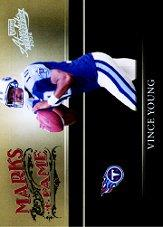 2006 Absolute Memorabilia Marks of Fame Silver #26 Vince Young