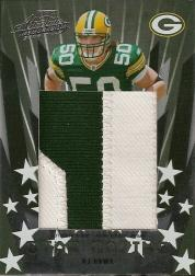 2006 Absolute Memorabilia Star Gazing Materials Prime Oversize #25 A.J. Hawk