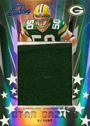 2006 Absolute Memorabilia Star Gazing Materials Prime Oversize Spectrum #25 A.J. Hawk