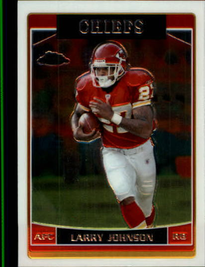 2006 Topps Chrome #62 Larry Johnson