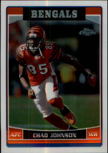 2006 Topps Chrome Refractors #21 Chad Johnson