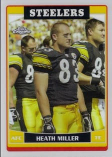 2006 Topps Chrome Refractors #32 Heath Miller