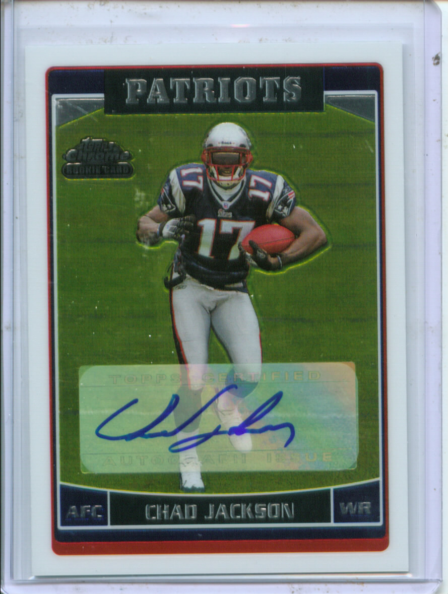 2006 Topps Chrome Rookie Autographs #233 Chad Jackson C