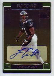 2006 Topps Chrome Rookie Autographs #257 Jason Avant D