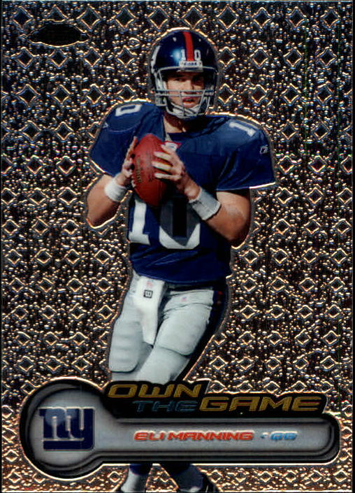 2006 Topps Chrome Own The Game #OTG15 Eli Manning