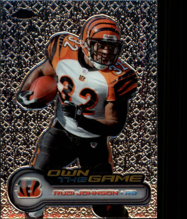 2006 Topps Chrome Own The Game #OTG28 Rudi Johnson