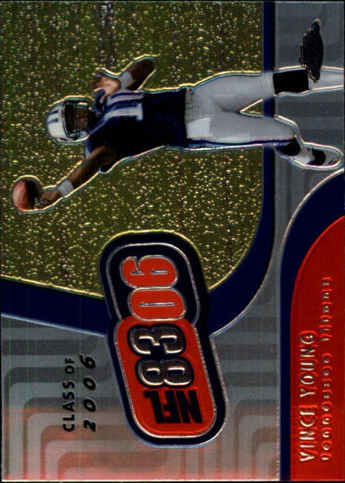 2006 Topps Chrome NFL 8306 #NFL7 Vince Young