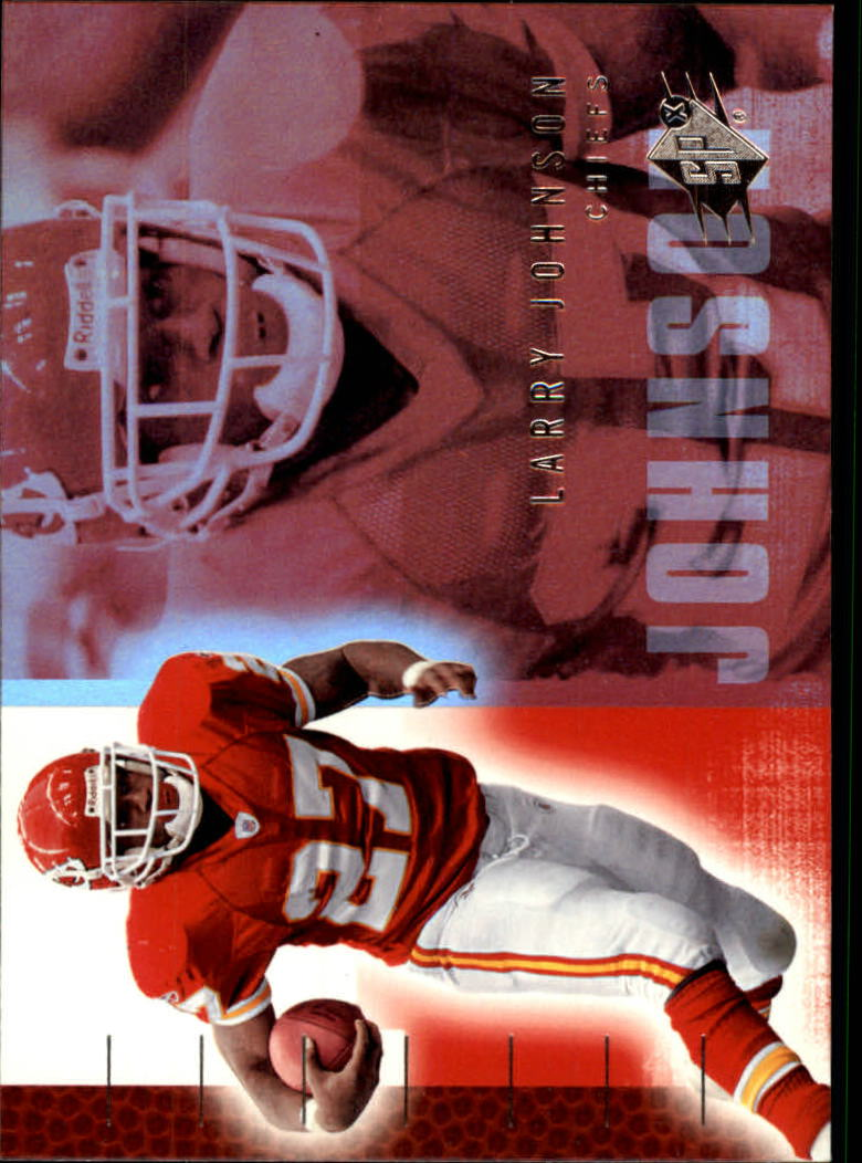 2006 SPx #43 Larry Johnson