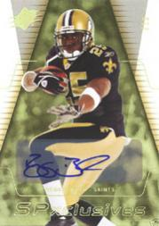 2006 SPx SPxclusives Autographs #EXBU Reggie Bush