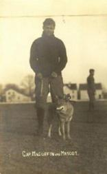 1908 Michigan White Postcards #4 Paul Magoffin/(with team mascot)