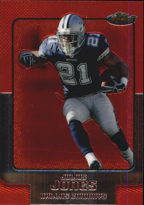 2006 Finest #57 Julius Jones