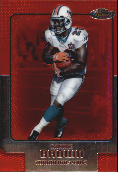 2006 Finest #59 Ronnie Brown