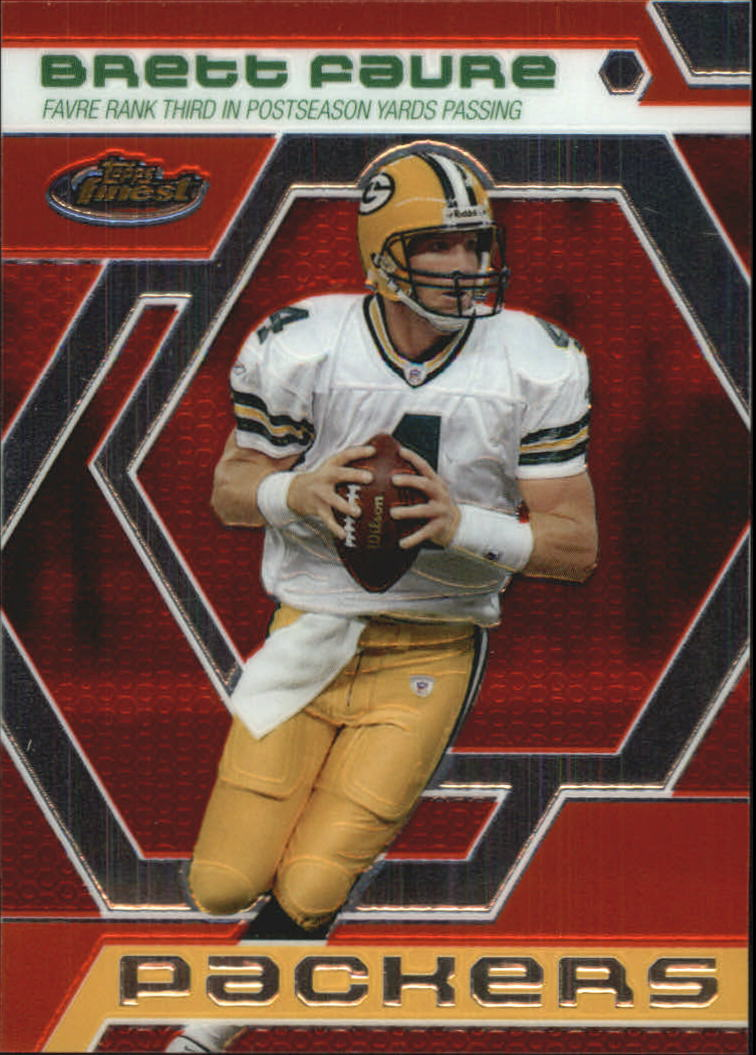 2006 Finest Brett Favre Finest Moments #BF15 Brett Favre