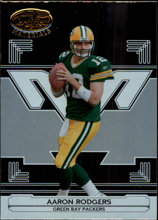2006 Leaf Certified Materials #54 Aaron Rodgers