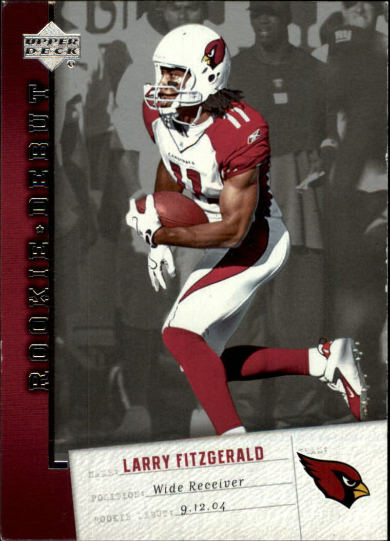2006 Upper Deck Rookie Debut #2 Larry Fitzgerald