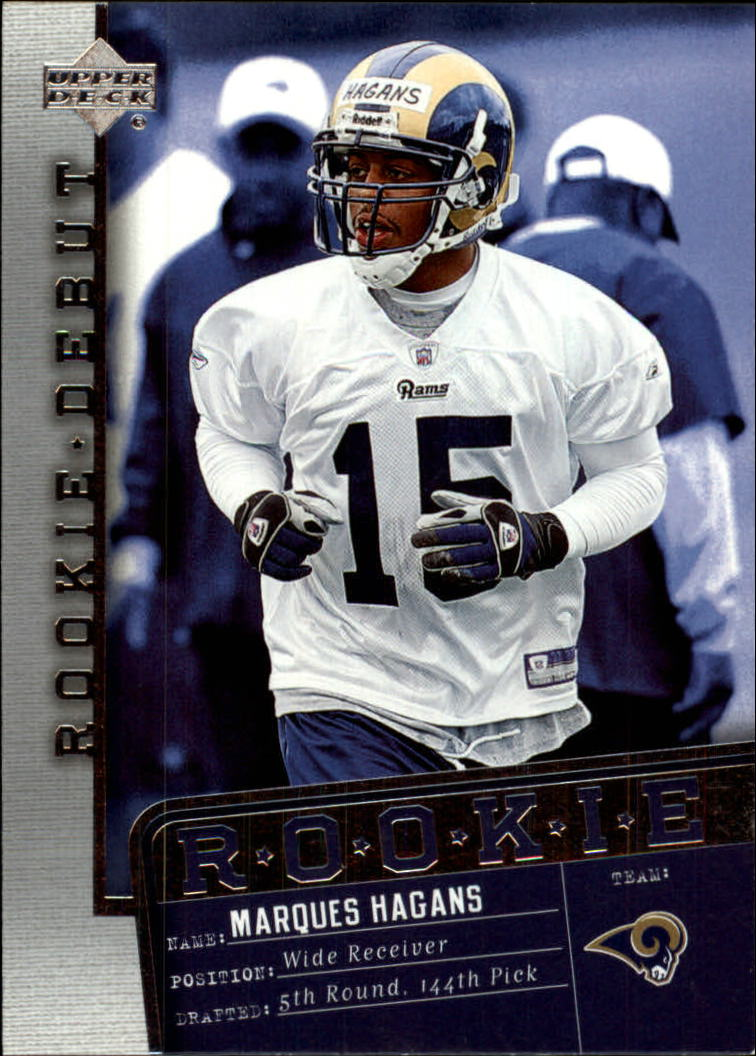 2006 Upper Deck Rookie Debut #188 Marques Hagans RC