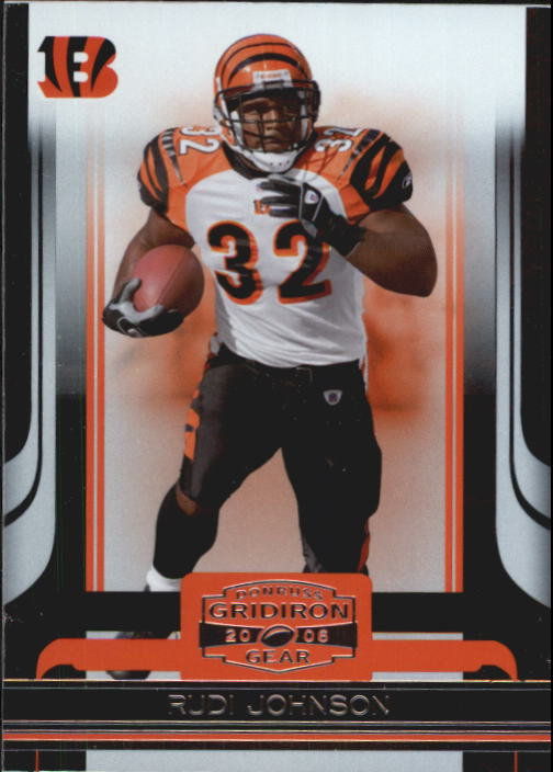 2006 Donruss Gridiron Gear #23 Rudi Johnson