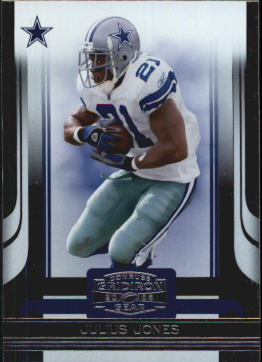 2006 Donruss Gridiron Gear #29 Julius Jones