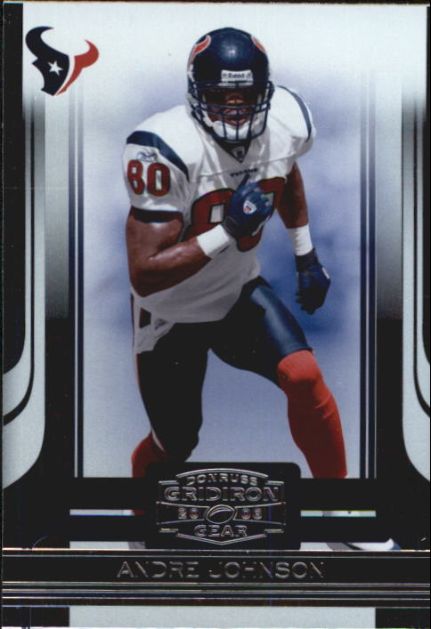 2006 Donruss Gridiron Gear #42 Andre Johnson
