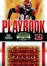 2006 Donruss Gridiron Gear Playbook HoloGold #2 Chad Johnson