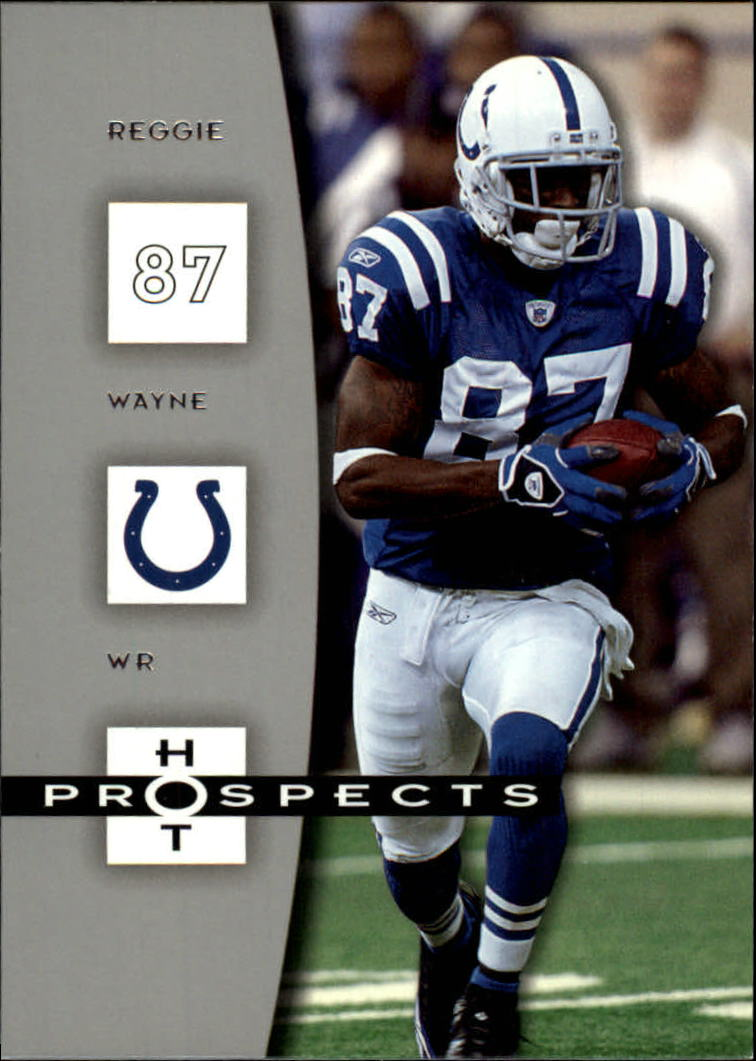 2006 Hot Prospects #42 Reggie Wayne
