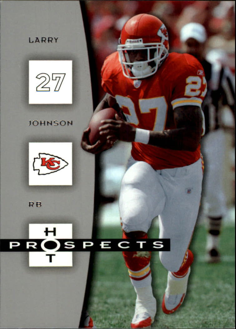 2006 Hot Prospects #47 Larry Johnson