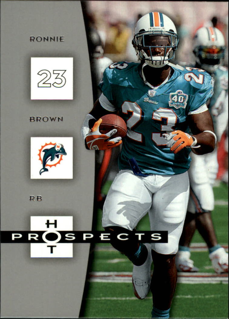 2006 Hot Prospects #52 Ronnie Brown