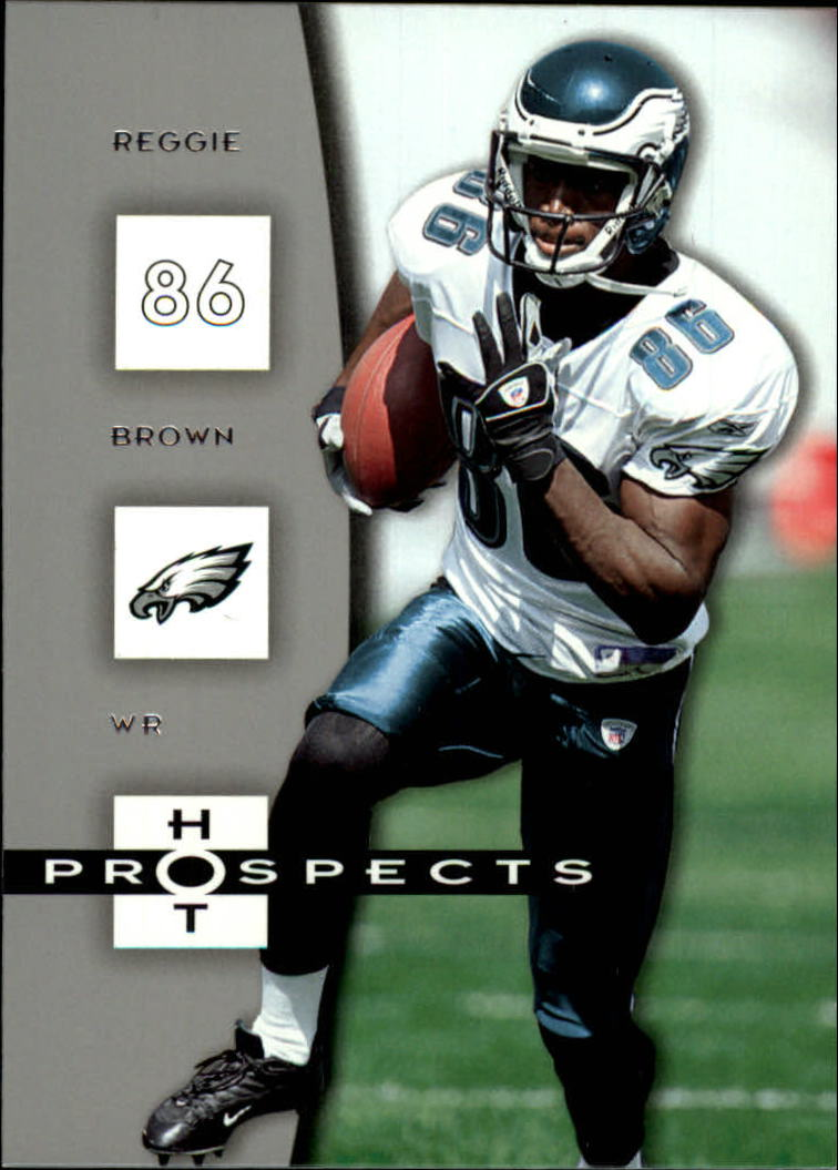 2006 Hot Prospects #75 Reggie Brown