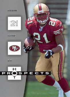 2006 Hot Prospects #83 Frank Gore