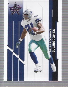 2006 Leaf Rookies and Stars #29 Julius Jones
