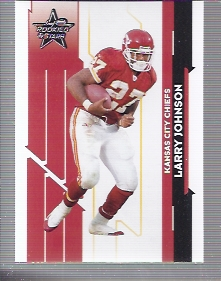2006 Leaf Rookies and Stars #54 Larry Johnson